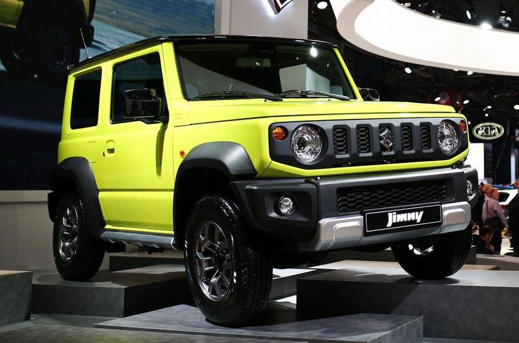Состоялась европейская премьера внедорожника Suzuki Jimny нового поколения